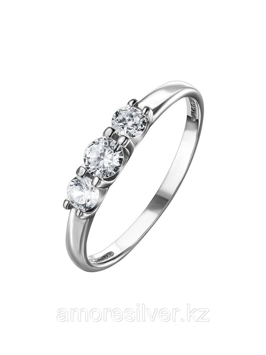 Кольцо TEOSA серебро с родием, фианит К630-1343 размеры - 17