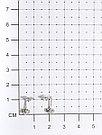 Серьги Аврора-Голд серебро с родием, фианит с08-1н, фото 2