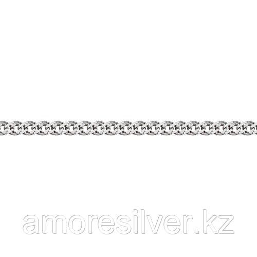 Цепь Адамант серебро с родием, без вставок, нонна Ср925Р-103608060 размеры - 60