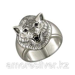 Печатка SOKOLOV из черненного серебра, фианит  95010022