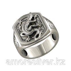 Печатка SOKOLOV из черненного серебра, без вставок 95010034