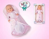 Кукла девочка с пледом №14008