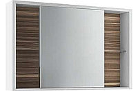 Зеркало-шкаф Edelform Belle 100 белый макассар (2-763-44-S)