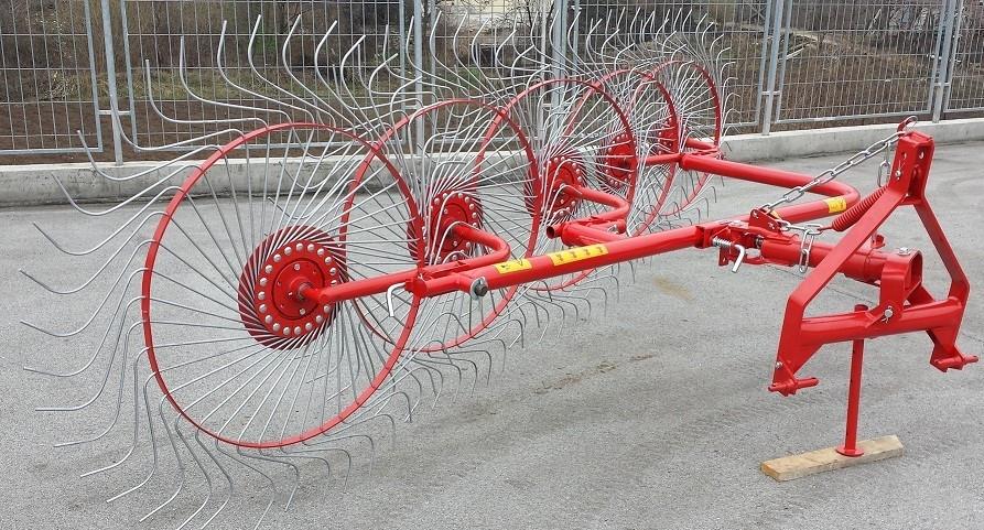 Грабли-ворошилки 3.0м 5ти колесные D-POL (аналог Польша)