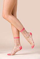 Прозрачные женские носки с принтом, Candy