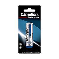 Аккумулятор CAMELION Lithium ICR18650-BP1 2200 mAh 1 шт. в блистере