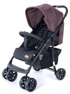 """Детская коляска Tomix """"City One"""", (Coffee&Black), Система быстрого складывания, передние и задние ко"""
