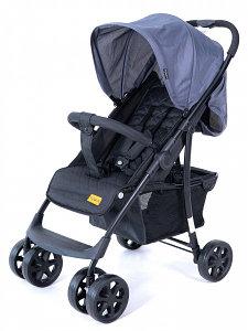 """Детская коляска Tomix """"City One"""", (Grey&Black), Система быстрого складывания, передние и задние коле"""