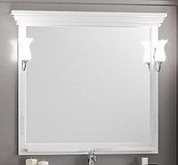 Зеркало OPADIRIS Риспекто 100, цвет белый матовый (Z0000001440)