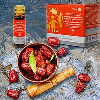 Концентрированный сироп из фиников Унаби «Тяньши» (Упаковка: 50 мл × 8 флаконов.)