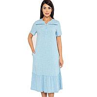 Платье домашнее женское L / 46-48, Голубой