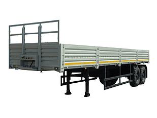 Тент на полуприцеп НЕФАЗ-9334-20-10 (борт КАМАЗ)