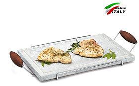 Каменный гриль Hot Stone Grill Bisetti 99004 сковорода для жарки мяса стейков овощей рыбы креветки шашлыка
