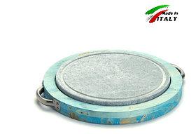 Гриль камень Bisetti Linea vintage 99271A сковорода для жарки мяса стейков овощей рыбы шашлыка креветки