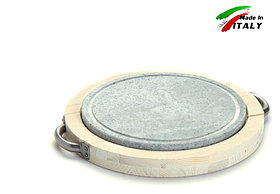Каменный гриль Bisetti Linea vintage 99271B сковорода для жарки мяса стейков овощей шашлыка креветки рыбы