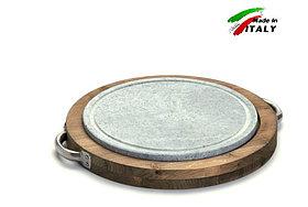 Каменный гриль Bisetti Linea vintage 99271Tсковорода для жарки мяса стейков овощей шашлыка рыбы креветки