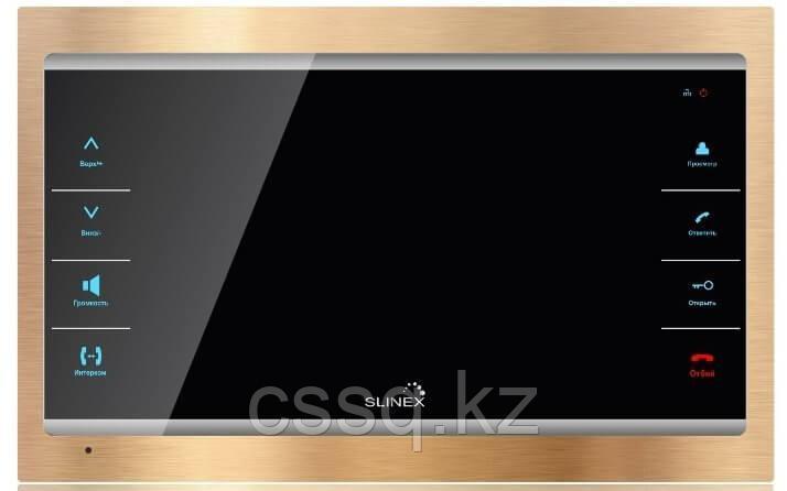 """Slinex SL-07IP цвет золото + черный. 7"""" Домофон с переадресацией вызова на смартфон"""