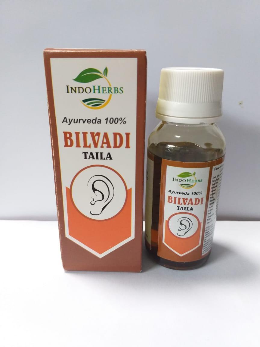 Бильвади тайла, масло для ушей, 50 мл, Bilvadi Taila INDOHERBS