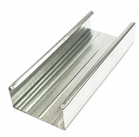 Профиль направляющий ПН 75х40х3000 толщина 0,55 мм