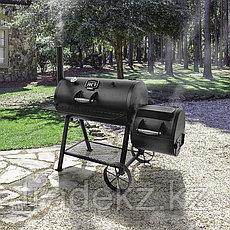 Угольный гриль-коптильня OKLAHOMA JOE'S LONGHORN OFFSET SMOKER, фото 3