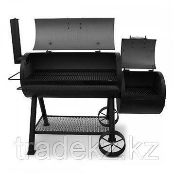 Угольный гриль-коптильня OKLAHOMA JOE'S LONGHORN OFFSET SMOKER, фото 2