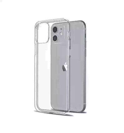 Прозрачный силиконовый чехол для iPhone 11 (6.1)