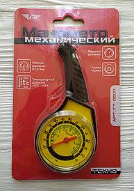 Манометр для измерения давления в шинах, механический, TT-0031 Total Tools