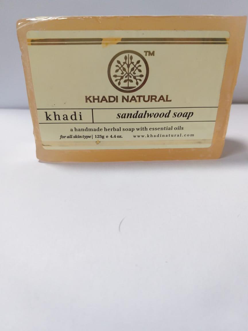 Мыло с Сандалом, 125 гр, Кхади, Khadi Natural Sandalwood Soap