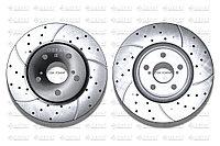 Тормозные диски Gerat DSK-F046W (ПЕРЕДНИЕ) Toyota Highlander xu20, Harrier I пок., Lexus Rx300 xu10