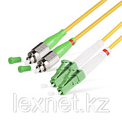 Патч Корд Оптоволоконный FC/APC-LC/APC SM 9/125 Duplex 3.0мм 1 м