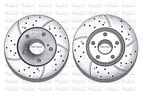Тормозные диски Gerat DSK-F052W (ПЕРЕДНИЕ) Toyota Auris, Corolla E150
