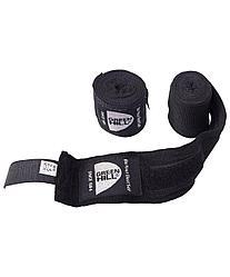 Бинт боксерский BP-6232c, 3,5м, эластик, Green Hill черный