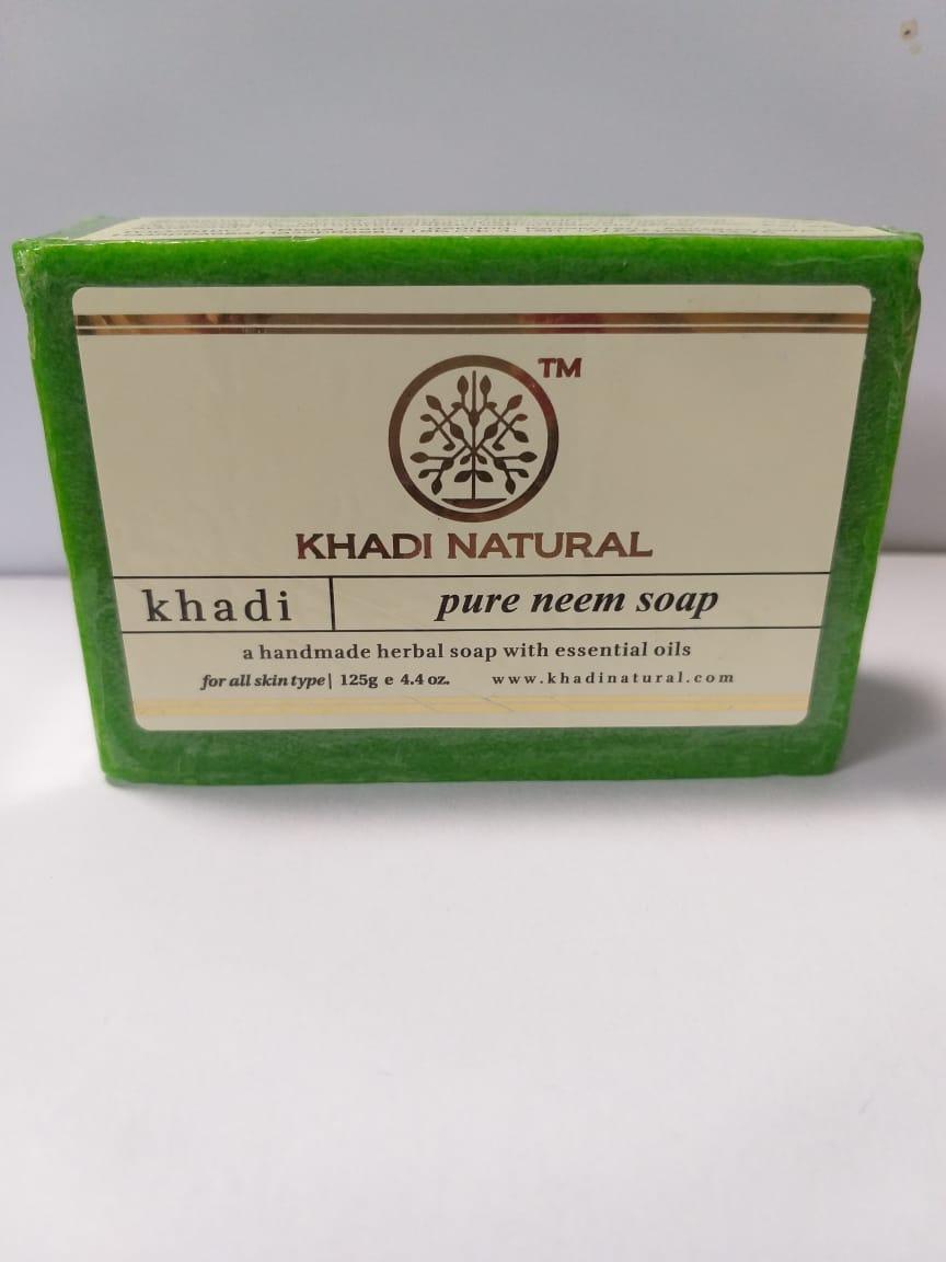 Мыло Чистый Ним (Neem KHADI), 125 гр