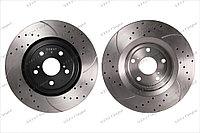 Тормозные диски Gerat DSK-F132 (ПЕРЕДНИЕ) Lexus RX350/400h/450h AL10