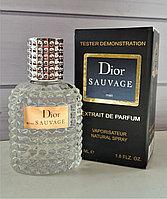 Тестер Extrait Dior SAUVAGE 60 ml
