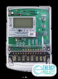 Счетчик электронный  3фаз. многотарифный с функцией PLC ДАЛА СА4-Э720 ТХ Р PLC IP П RS 3x220/380V 5(60)A
