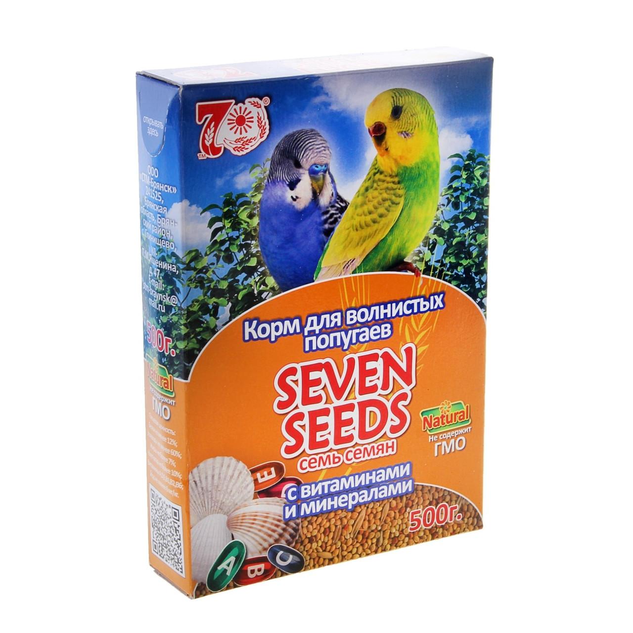 Seven Seeds Корм для волнистых попугаев