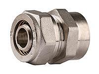 Соединитель ЗУБР с внутренней резьбой, цанга-гайка, 3/4х20х2,0 мм, никель, 51402-20-3/4