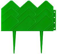 Бордюр декоративный GRINDA для клумб, 14х310см, зеленый