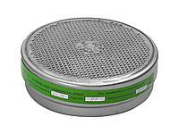 Фильтр сменный для промышленных противогазов РПГ-67, 11142_z01, марка К1 от паров аммиака, сероводорода, набор