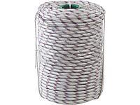 Фал плетёный полипропиленовый СИБИН 50215-10, 24-прядный с полипропиленовым сердечником, диаметр 10 мм, бухта