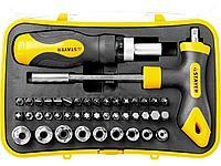 Набор инструментов торцевые головки и биты STAYER 25084-H43, MASTER ТECHNO, 43 предмета
