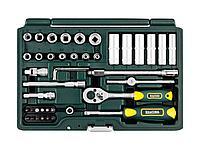 Набор инструментов торцевые головки и биты KRAFTOOL 27885-H42_z02, EXPERT QUALITAT SUPER LOCK, с