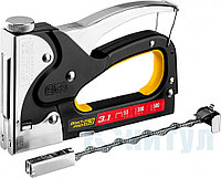 "Степлер для скоб ""BlackPro 53"" 3-в-1: тип 53 (4-14 мм) / 300 (10-14 мм) / 500 (14 мм), STAYER Professional, ("