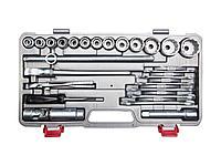 Набор инструментов торцовые головки НИЗ 27625-H26, АВТОМОБИЛИСТ, в пластиковом кейсе, 26 предметов