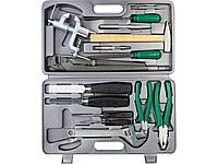 Набор инструментов универсальный НИЗ 27622, ПРОГРЕСС, сталь 40Х, в пластиковом кейсе, 15 предметов