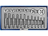Набор резьбонарезной ЗУБР 28120-H18, МАСТЕР, с металлорежущим инструментом, в пластиковом боксе 18 предметов