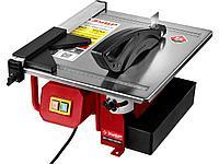 Плиткорез электрический ЗУБР ЭП-180-600Н, МАСТЕР, диск 180 мм, глубина реза 90°-34 мм / 45° - 17 мм, стол 330