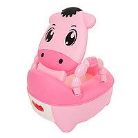 Детский горшок-стульчик Pituso Телёнок розовый