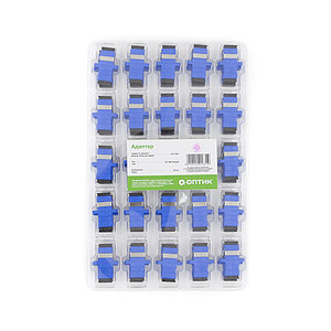 Адаптер А-Оптик АО-7001 SC/UPC-SC/UPC SM Simplex